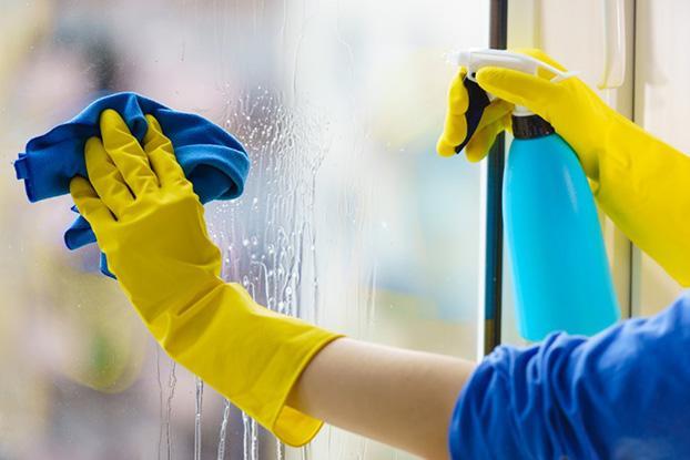 Fönsterputsning med Paulz