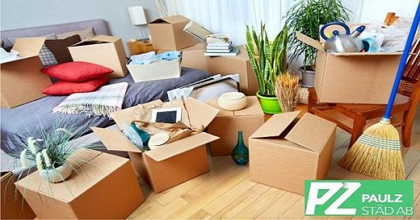 Flytta Husrengöring Checklistan Innan du packar Upp den