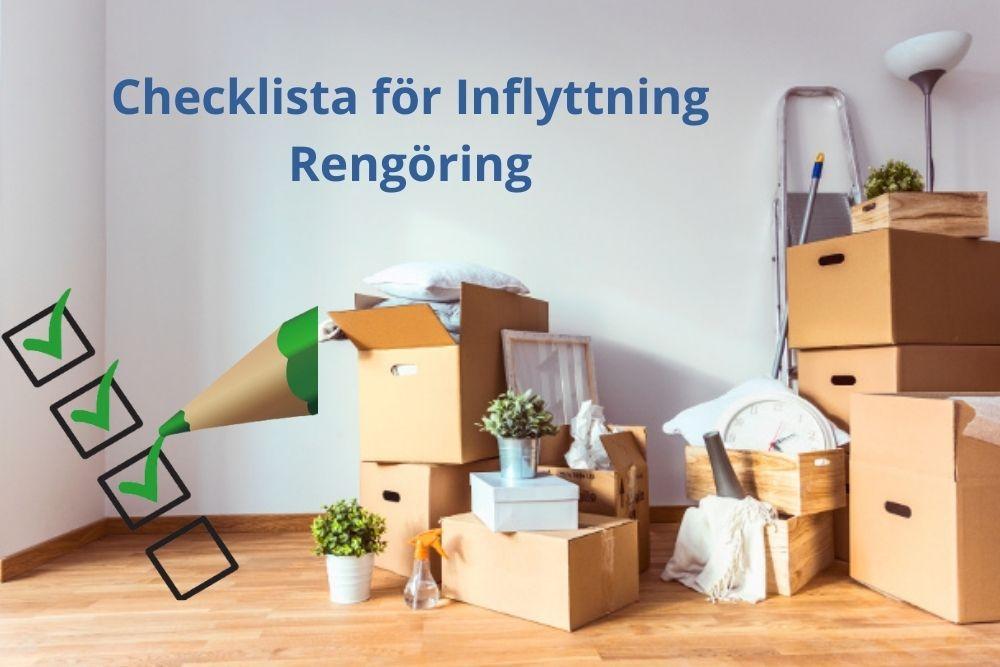 Checklista för Inflyttning Rengöring